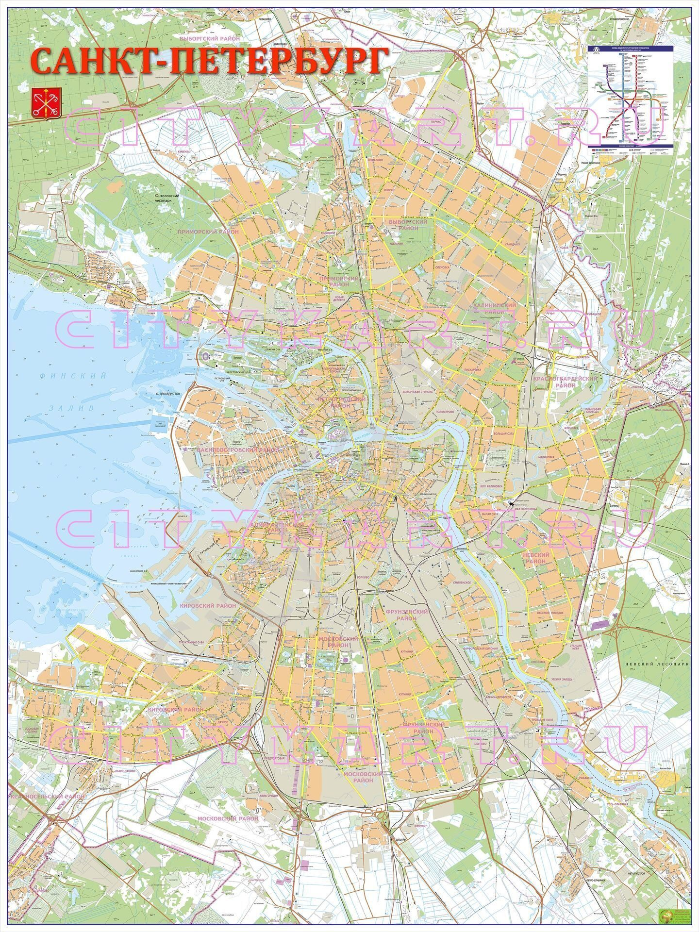 Как сделать карту санкт-петербурга 373